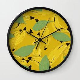 Bananas to give and sell Wall Clock
