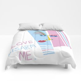 LOVE DISARM ME (MATISSE INSPIRATION) Comforters
