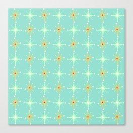 Retro Stars Canvas Print
