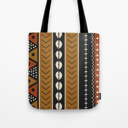 Let's play mudcloth Tote Bag