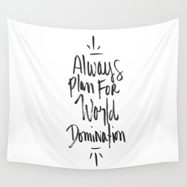 World Domination Wall Tapestry