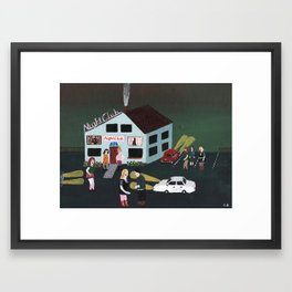 Nightclub Framed Art Print