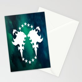 Dreamers Club Dueling Lions Stationery Cards