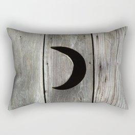 Outhouse Moon Rectangular Pillow