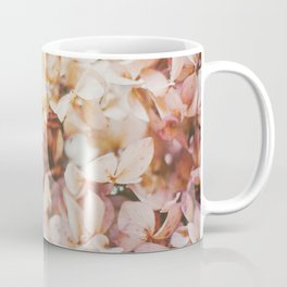 Pastel Pink Hydrangea Coffee Mug