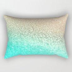GOLD AQUA Rectangular Pillow