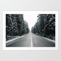 onward Art Prints featuring Onward by danotis