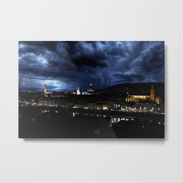 Midnight in Florence Metal Print