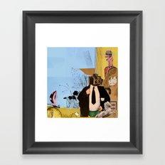 Alfred 2 Framed Art Print