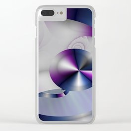 Spiritual Harmony Clear iPhone Case