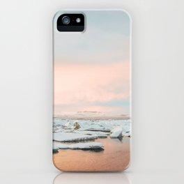 Iceland Sunset iPhone Case