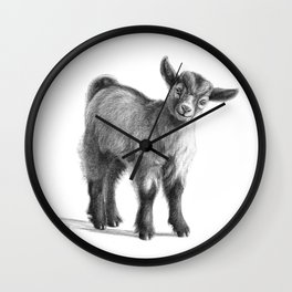 Goat baby G097 Wall Clock