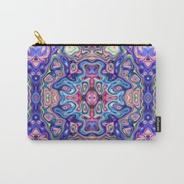 Colorful Abstract Symmetry Carry-All Pouch