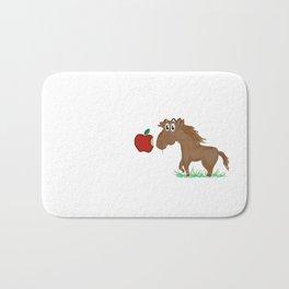 Horse Food Bath Mat