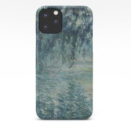 Morning on the Seine, Claude Monet iPhone Case