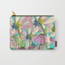 Daisy Floral Pattern 2 Carry-All Pouch