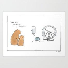 Someday Art Print