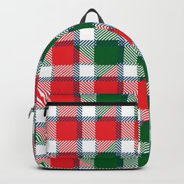 Santas Tartan Backpack