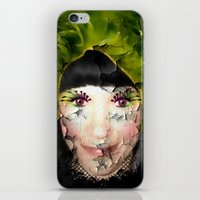 depression iPhone & iPod Skins featuring Depression by ADH Graphic Design