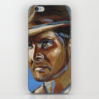 indiana jones iPhone & iPod Skins featuring Indiana Jones - Harrison Ford by Buffalo Bonker