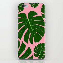 Monstera Mingle iPhone Skin
