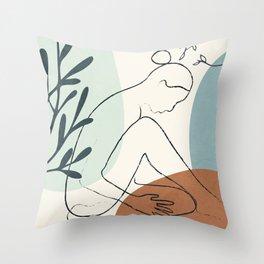 Breeze III Throw Pillow