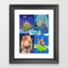 The Jetsons Framed Art Print