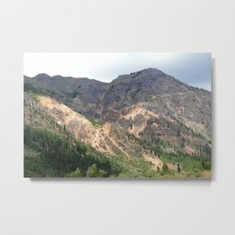 Gold Mines All Along the Animas River Metal Print