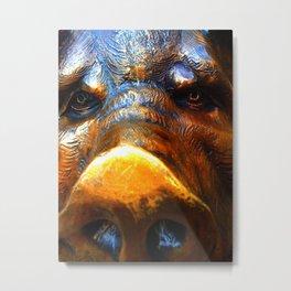 Boar Metal Print
