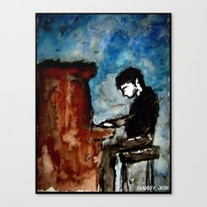 There is Poetry in the Way He Plays Canvas Print