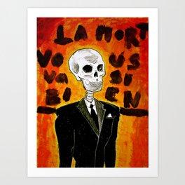 La mort vous va si bien II Art Print