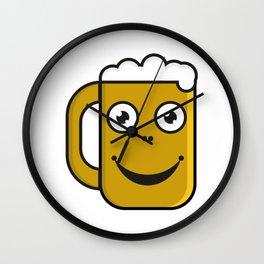 Beer party  #society6 #decor #buyart #artprint Wall Clock