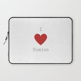 I love comics Laptop Sleeve