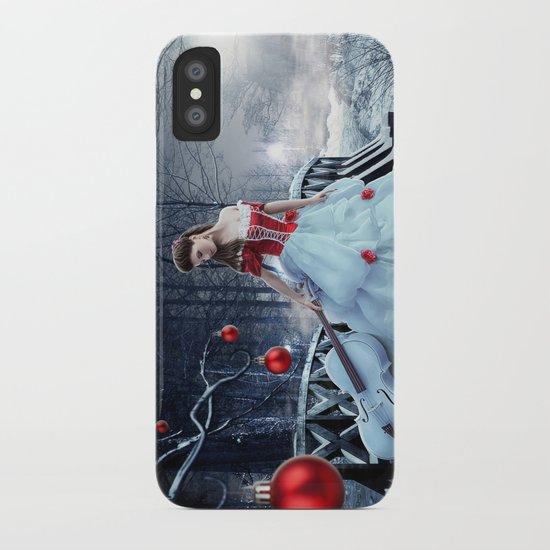 Xmas Night iPhone Case