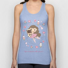 BellaRina - Life Is Sweeter With You In It Unisex Tank Top