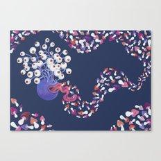 Mushroom Monster Canvas Print