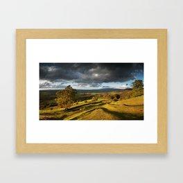 Llanfrynach Landscape Framed Art Print