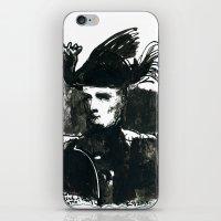 napoleon iPhone & iPod Skins featuring napoleon by Chuchuligoff
