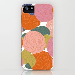 Flowers In Full Bloom iPhone Case