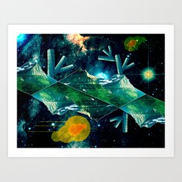 Nature Within Space Art Print