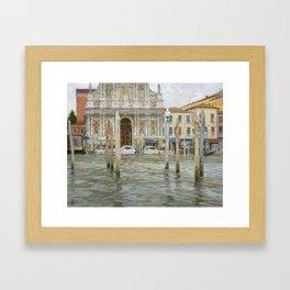 Venice, St. Maria Church Framed Art Print