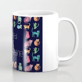 Motivated by Cats and Caffeine Coffee Mug