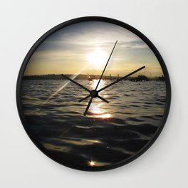Sunset 02 Wall Clock