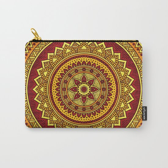 Hippie mandala 78 Carry-All Pouch