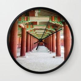 Leading Lines, Seoul, S. Korea Wall Clock