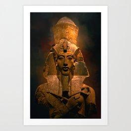 Akhenaten Art Print