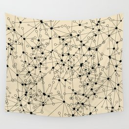 Stars sky map Wall Tapestry