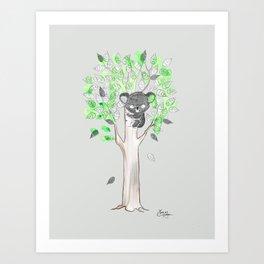 Too Clingy Art Print