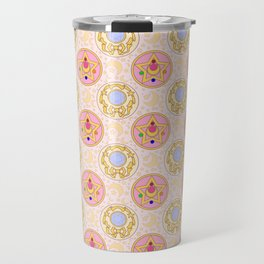 Sailor Moon broach Pattern Travel Mug