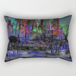 Refinery (Glitch) Rectangular Pillow